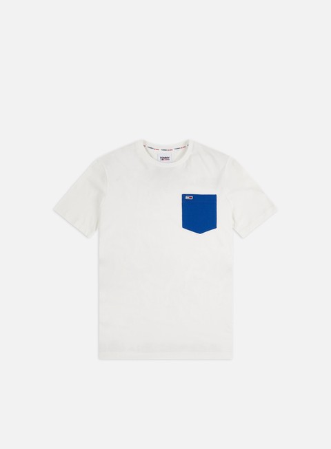 Sale Outlet Short Sleeve T-shirts Tommy Hilfiger TJ Contrast Pocket T-shirt