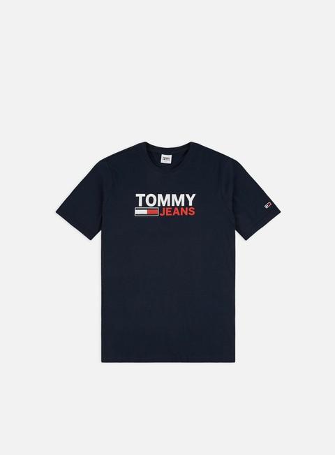 Short Sleeve T-shirts Tommy Hilfiger TJ Corp Logo 2 T-shirt