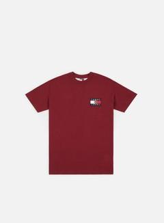 Tommy Hilfiger - TJ Crest Flag T-shirt, Cabernet
