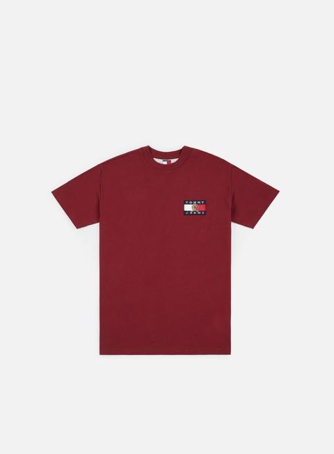 Outlet e Saldi T-shirt a Manica Corta Tommy Hilfiger TJ Crest Flag T-shirt