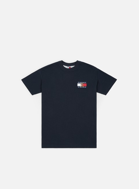 Short Sleeve T-shirts Tommy Hilfiger TJ Crest Flag T-shirt