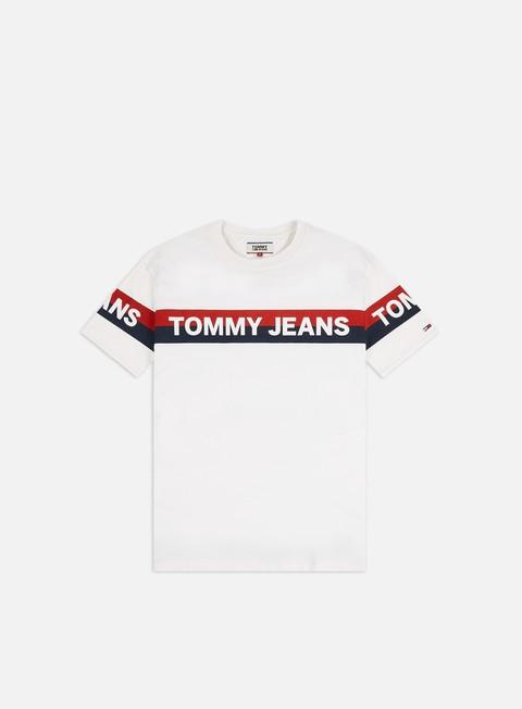 Short Sleeve T-shirts Tommy Hilfiger TJ Double Stripe Logo T-shirt