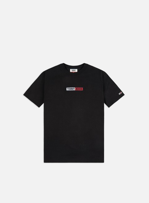 Outlet e Saldi T-shirt a Manica Corta Tommy Hilfiger TJ Embroidered Box Logo T-shirt