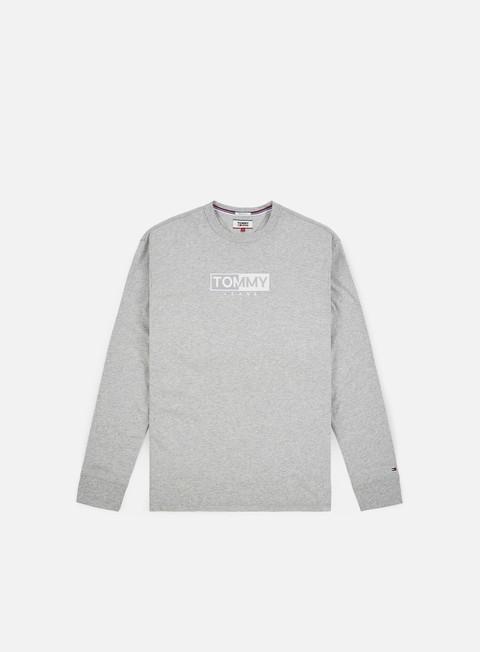 Sale Outlet Long sleeve T-shirts Tommy Hilfiger TJ Embroidered Logo LS T-shirt