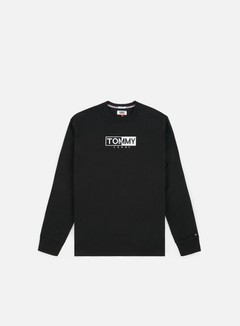 Tommy Hilfiger - TJ Embroidered Logo LS T-shirt, Tommy Black