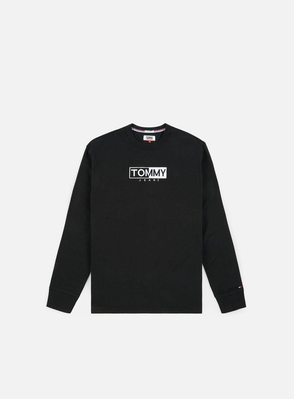 Tommy Hilfiger TJ Embroidered Logo LS T-shirt