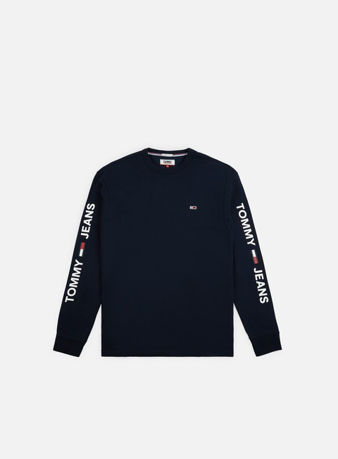Long Sleeve T-shirts Tommy Hilfiger TJ Essential Logo LS T-shirt