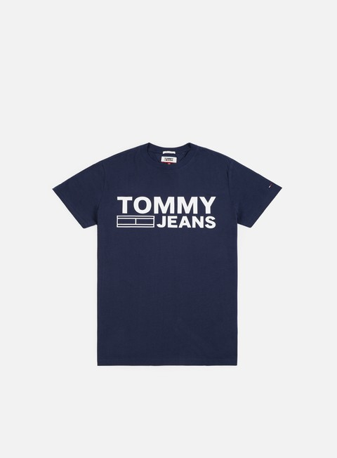 Sale Outlet Short Sleeve T-shirts Tommy Hilfiger TJ Essential Logo T-shirt