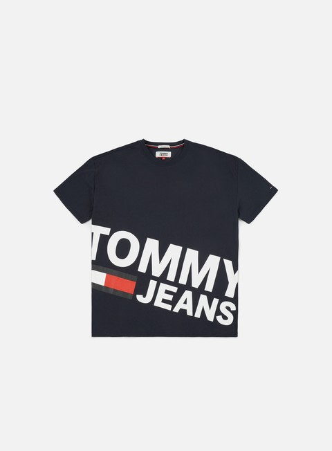 t shirt tommy hilfiger tj essential magnific logo t shirt black iris