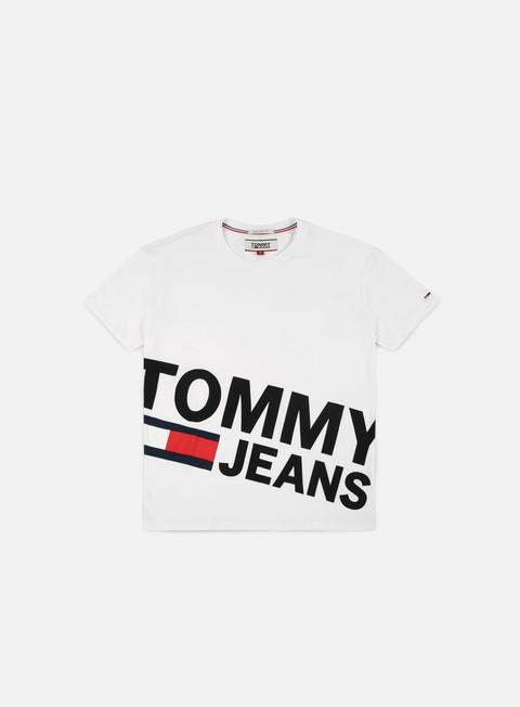 t shirt tommy hilfiger tj essential magnific logo t shirt classic white