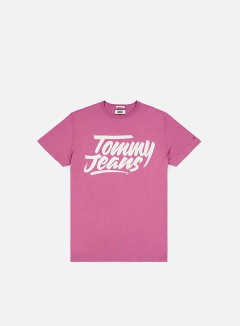 Outlet e Saldi T-shirt a Manica Corta Tommy Hilfiger TJ Essential Script T-shirt