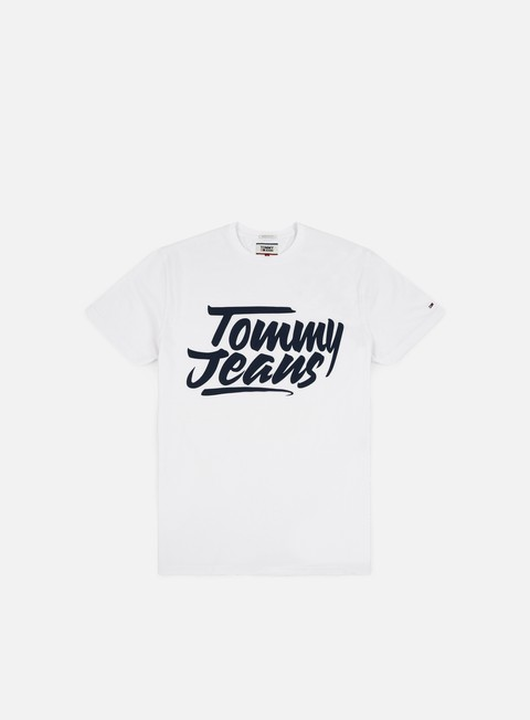 Short Sleeve T-shirts Tommy Hilfiger TJ Essential Script T-shirt