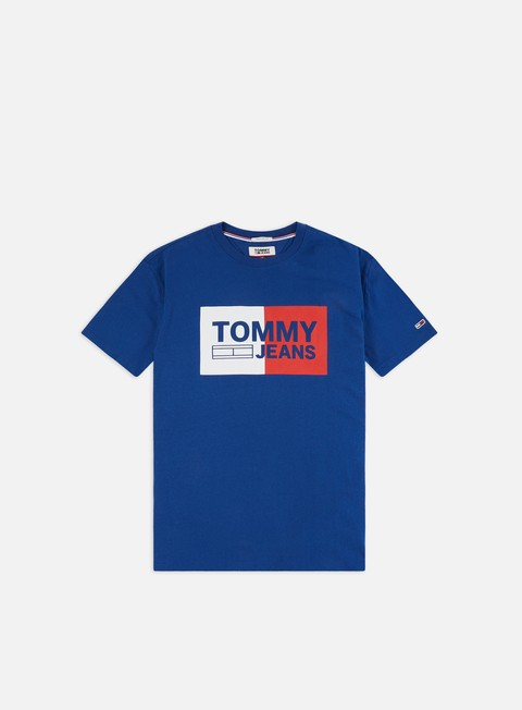 Outlet e Saldi T-shirt a Manica Corta Tommy Hilfiger TJ Essential Split Box T-shirt