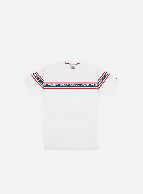 Outlet e Saldi T-shirt a Manica Corta Tommy Hilfiger TJ Essential Tape T-shirt