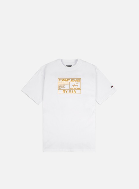 Short Sleeve T-shirts Tommy Hilfiger TJ Gold Embroidery Logo T-shirt