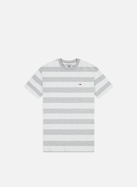 Outlet e Saldi T-shirt a Manica Corta Tommy Hilfiger TJ Heather Stripe T-shirt