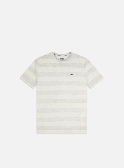 Short Sleeve T-shirts Tommy Hilfiger TJ Heather Stripe T-shirt