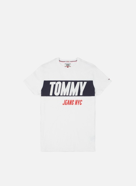 Sale Outlet Short Sleeve T-shirts Tommy Hilfiger TJ Heavy Logo T-shirt
