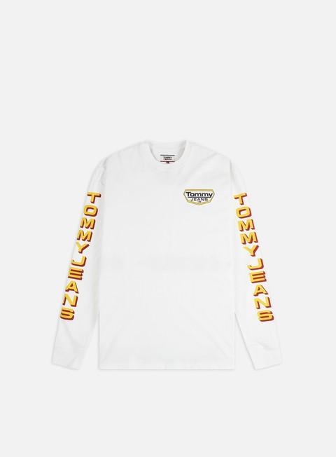 T-shirt a Manica Lunga Tommy Hilfiger TJ Longsleeve Retro LS T-shirt