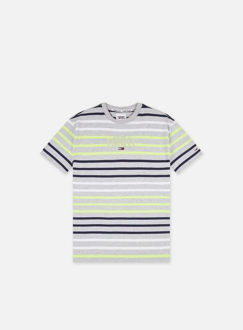 Tommy Hilfiger TJ Multi Stripe Curved Logo T-shirt