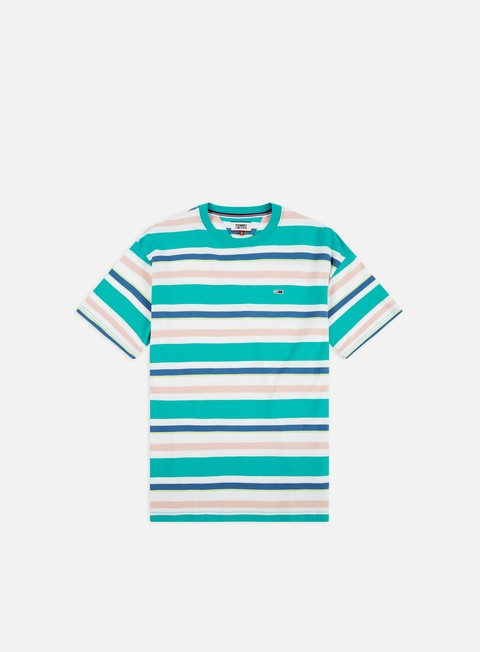 63c31a2b Short Sleeve T-shirts Tommy Hilfiger TJ Multi Stripe T-shirt