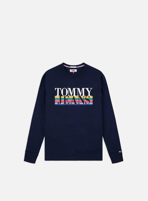 Sale Outlet Long sleeve T-shirts Tommy Hilfiger TJ Multicolor LS T-shirt