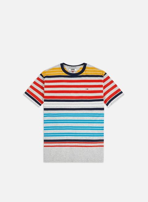Outlet e Saldi T-shirt a Manica Corta Tommy Hilfiger TJ Multistripe T-shirt