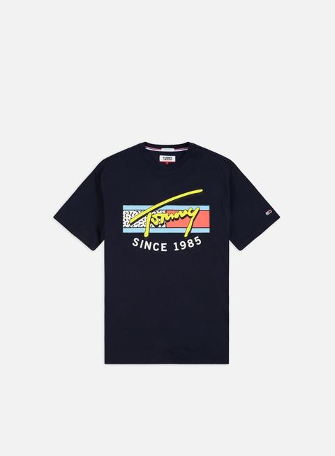 T-shirt a Manica Corta Tommy Hilfiger TJ Neon Script T-shirt
