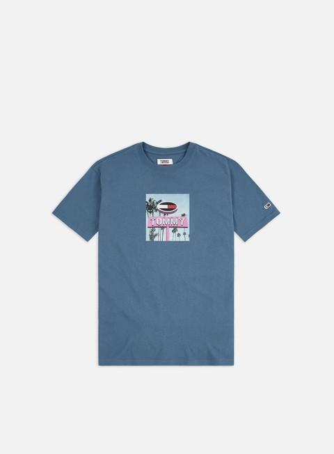 Short Sleeve T-shirts Tommy Hilfiger TJ Photo Print T-shirt