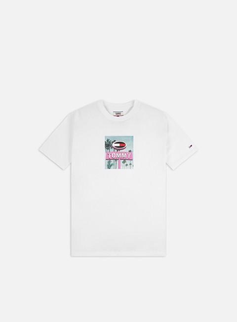 Outlet e Saldi T-shirt a Manica Corta Tommy Hilfiger TJ Photo Print T-shirt