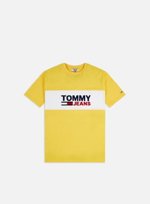 Short Sleeve T-shirts Tommy Hilfiger TJ Pieced Band Logo T-shirt