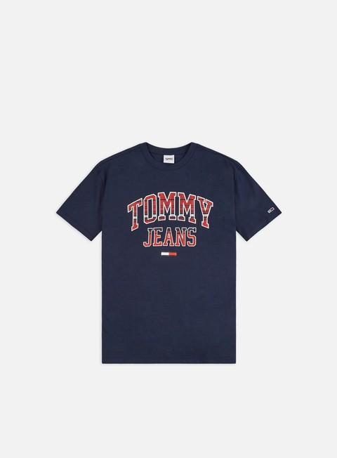 Logo T-shirts Tommy Hilfiger TJ Plaid Collegiate T-shirt