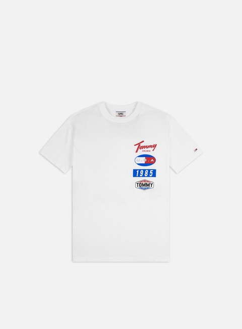 Outlet e Saldi T-shirt a Manica Corta Tommy Hilfiger TJ Printed Patches T-shirt