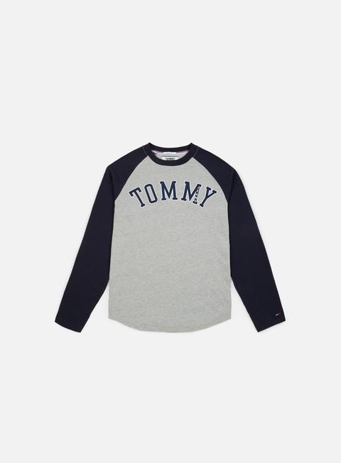 Sale Outlet Long sleeve T-shirts Tommy Hilfiger TJ Raglan Baseball LS T-shirt