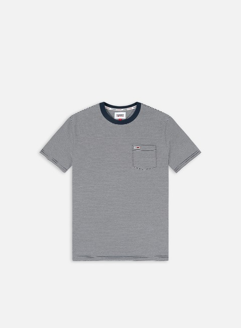 Outlet e Saldi T-shirt a manica corta Tommy Hilfiger TJ Regular Stripe Pocket T-shirt