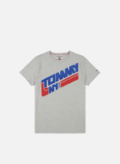Outlet e Saldi T-shirt a Manica Corta Tommy Hilfiger TJ Retro Block T-shirt