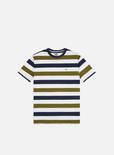 Short Sleeve T-shirts Tommy Hilfiger TJ Seasonal Stripe T-shirt