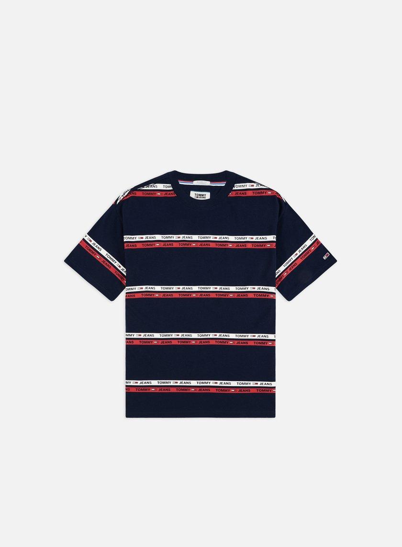 96476967c TOMMY HILFIGER TJ Signature Stripe Logo T-shirt € 45 Short Sleeve T ...