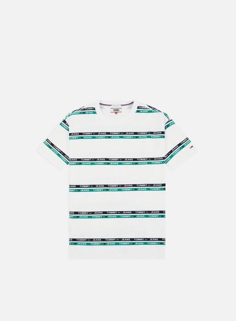 T-shirt a Manica Corta Tommy Hilfiger TJ Signature Stripe Logo T-shirt