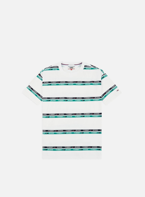 Tommy Hilfiger TJ Signature Stripe Logo T-shirt