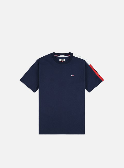 Sale Outlet Short Sleeve T-shirts Tommy Hilfiger TJ Sleeve Graphic T-shirt