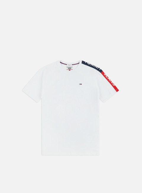 Outlet e Saldi T-shirt a Manica Corta Tommy Hilfiger TJ Sleeve Graphic T-shirt