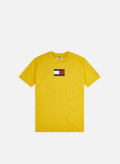 Tommy Hilfiger - TJ Small Flag T-shirt, Star Fruit Yellow