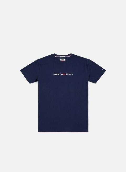 Outlet e Saldi T-shirt a Manica Corta Tommy Hilfiger TJ Small Text T-shirt