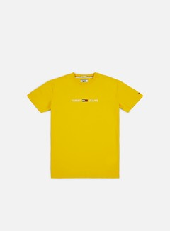 Tommy Hilfiger - TJ Small Text T-shirt, Spectra Yellow