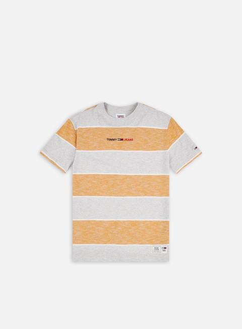 Tommy Hilfiger TJ Stripe Linear Logo T-shirt