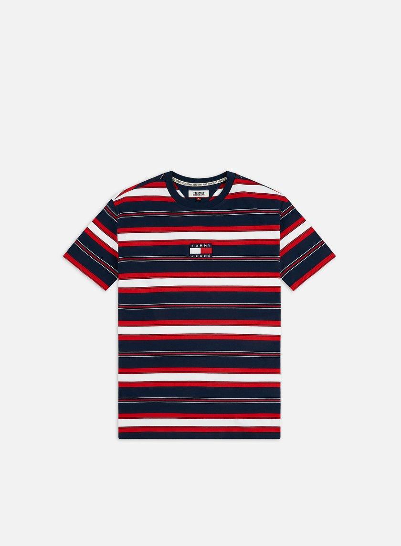 Tommy Hilfiger TJ Stripe Logo T-shirt
