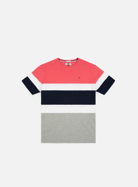 t shirt tommy hilfiger tj summer block t shirt rose of sharon multi