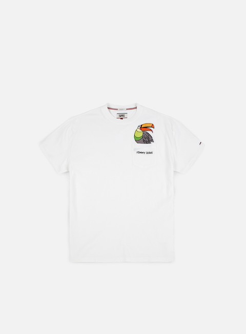 t shirt tommy hilfiger tj summer pocket detail t shirt classic white