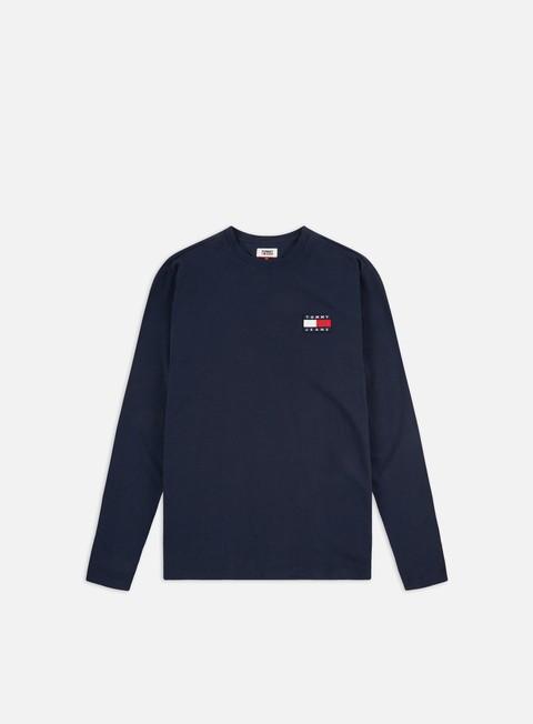 Sale Outlet Long sleeve T-shirts Tommy Hilfiger TJ Tommy Badge LS T-shirt